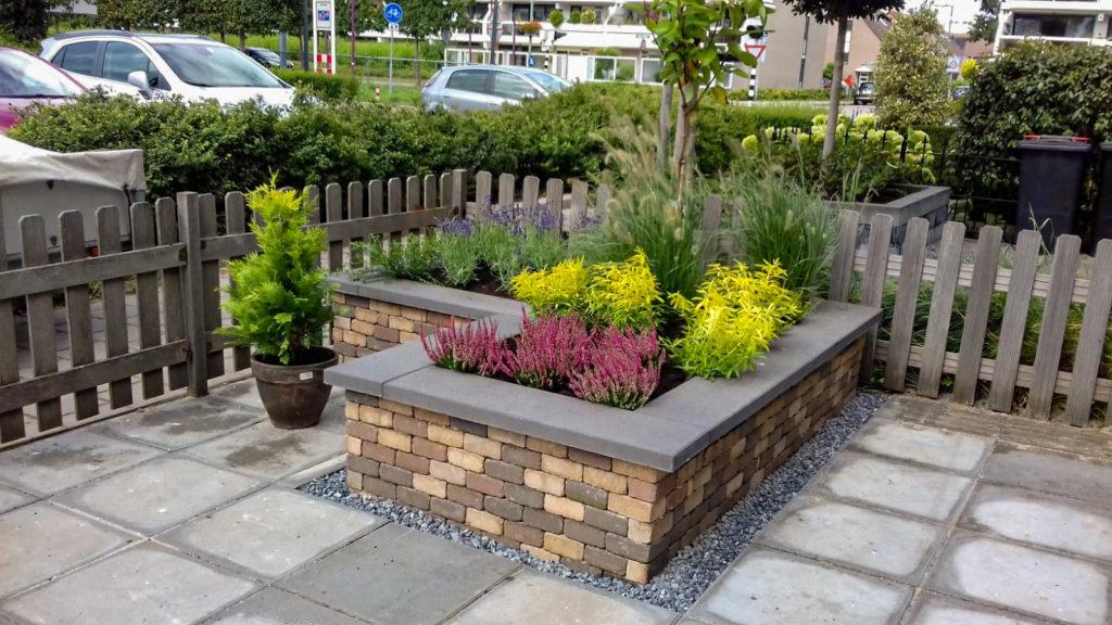 Aanleg tuin met hergebruikte materialen - huidige tuinprojecten